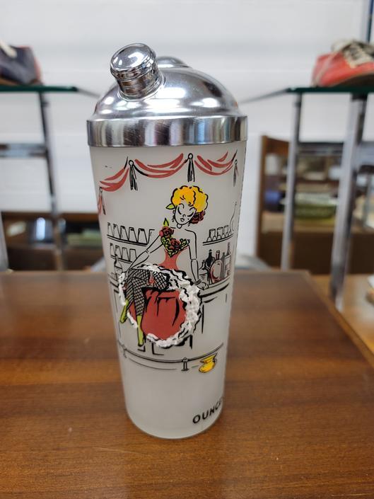 Vintage Cocktail Shaker