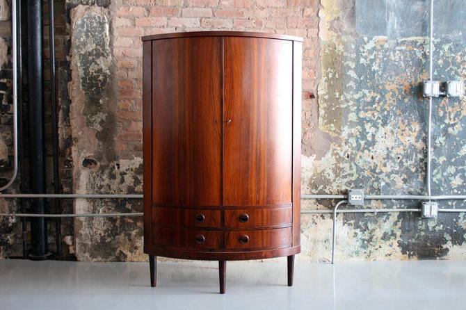 Danish Rosewood Corner Cabinet