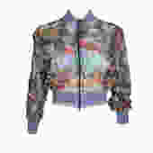 Jean Paul Gaultier Tropical Cropped Jacket