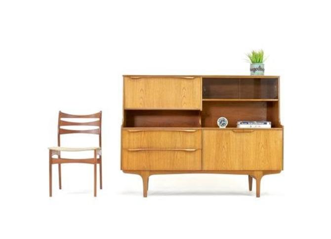 Mid Century Credenza by A James Sutcliffe and Son... by SputnikFurnitureLLC
