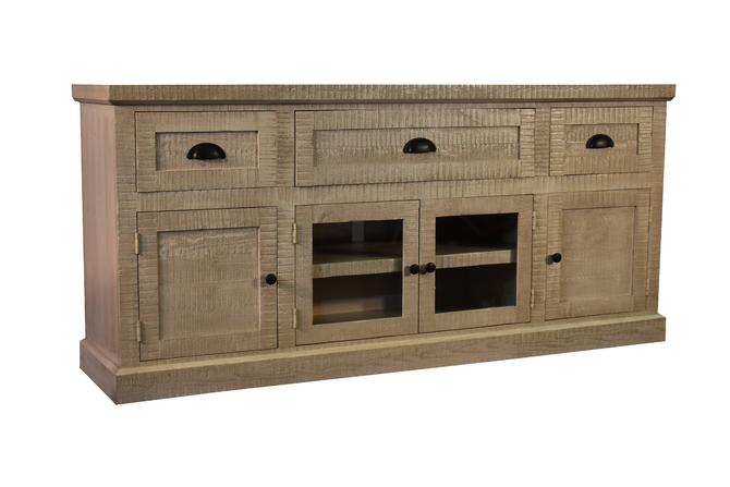 Rustic Farmhouse 70 TV Stand Sideboard Console