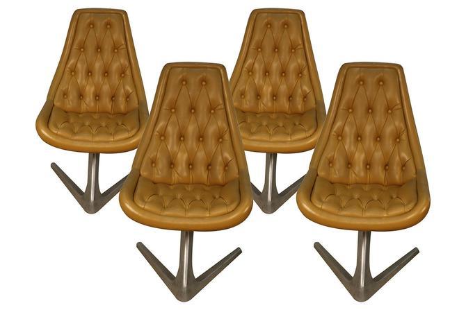 "Mid Century Vladimir Kagan for Chromcraft Sculpta Unicorn ""Star Trek"" Swivel Chairs by Marykaysfurniture"