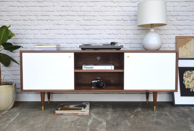 Madison Credenza - Solid Walnut - Custom for Stacey by STORnewyork