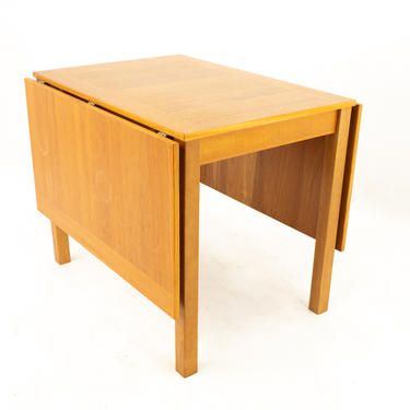Ansager Mobler Mid Century Teak Drop Leaf Expanding Dining Table - mcm by ModernHill