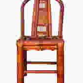 Handmade Classic Oriental Village Bamboo Relax Back Chair wk2597E by GoldenLotusAntiques
