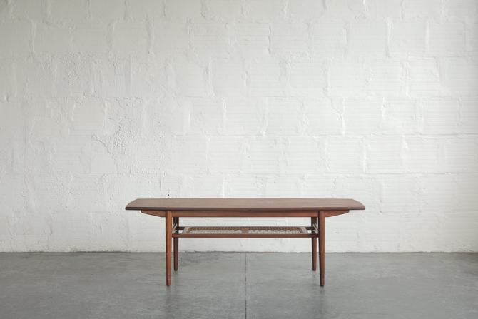 Teak Danish Surboard Coffee Table