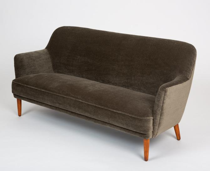Small Danish Sofa or Settee by John Vedel Rieper for Anker Petersen