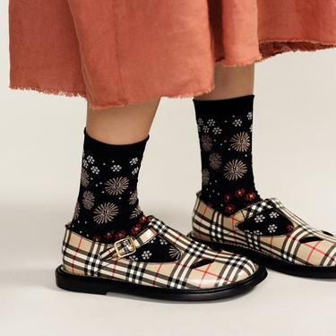 Blanche Crew Socks