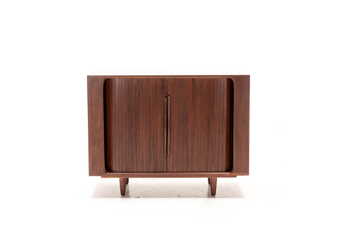Modern Mid Century Danish TV Console Credenza by TDFurniture