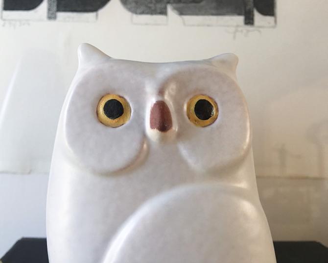 Cutest studio tapia owl vintage italian giftware ceramiche by