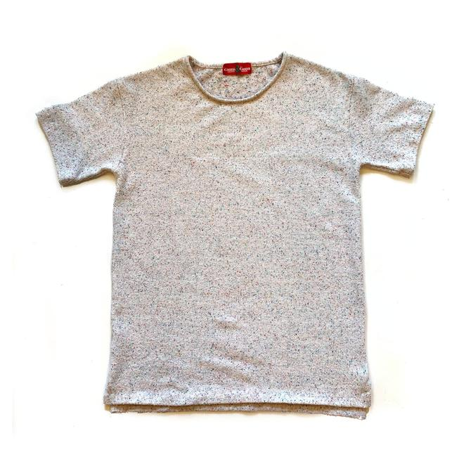 No Crew Tee (Speckled Terry)