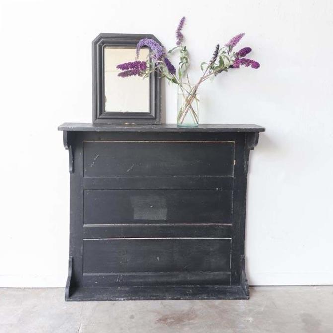 Vintage Kitchen Mantel Shelf