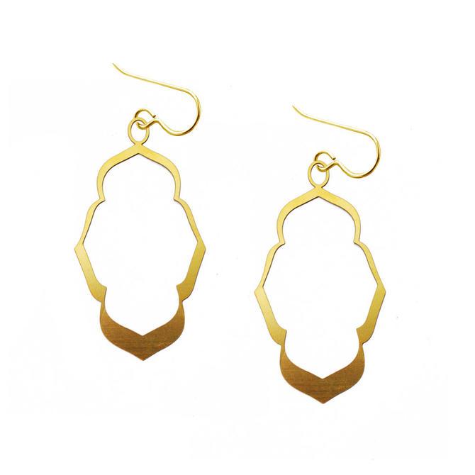 FS243sE - tile design earrings