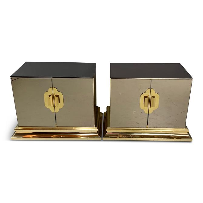 Ello Mirrored Nightstands-a Pair