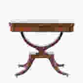Regency Style Mahogany Games Table