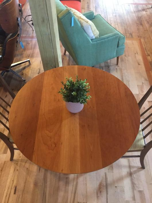 Repurposed Room & Board Round Dining Table