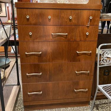 "MCM chest of drawers.  5 drawers, fun pulls! 32"" x 19.5"" x 48"""