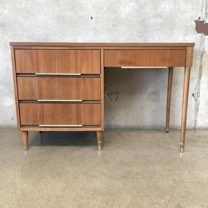 Mid Century Laminate Top Desk by Morris