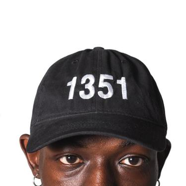 "Maketto ""1351"" Dad Hat Black"