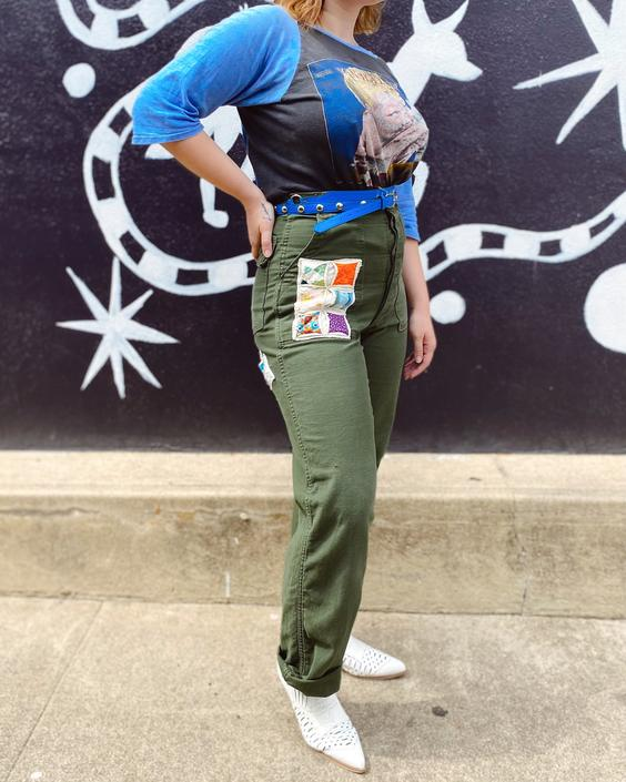 FO27 Mended & Patched OG-107 Pants