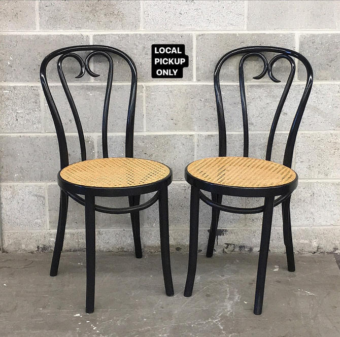 LOCAL PICKUP ONLY ———— Vintage Bentwood Chairs ———— 2 Sets of 2 by RetrospectVintage215