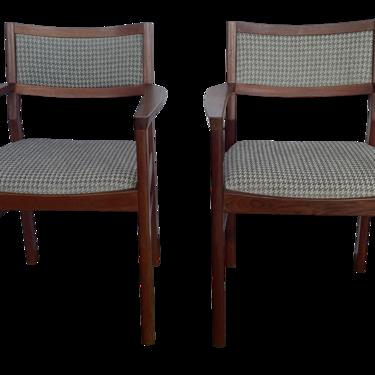 Mid-Century Jens Risom Chairs- a Pair