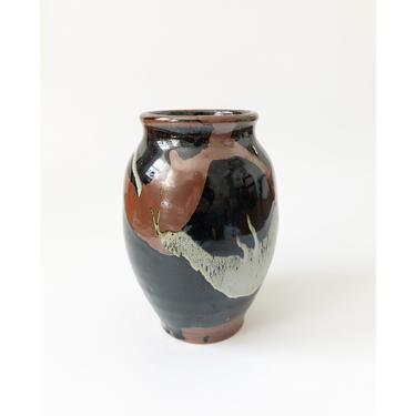 Large Vintage Abstract Studio Pottery Vase by SergeantSailor