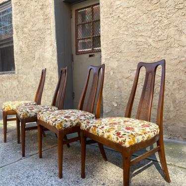 Mid century dining chair Danish modern dining set mid century modern dining chairs by VintaDelphia