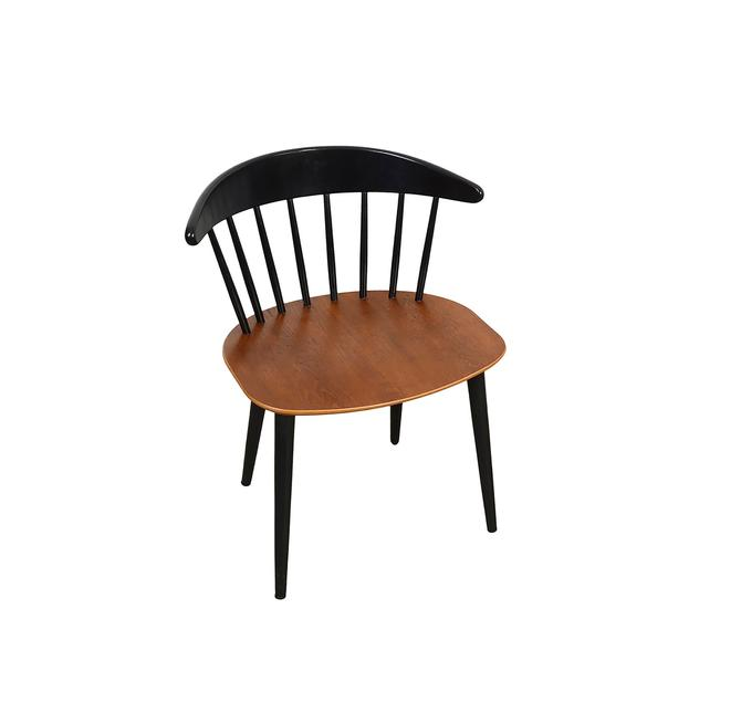 Jørgen Bækmark Chair for FDB Mobler j104 Chair in Walnut Danish Modern by HearthsideHome