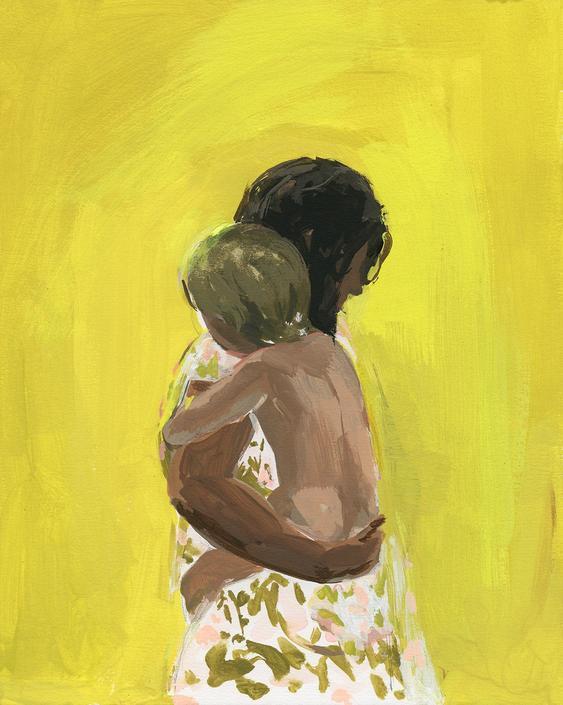 Loved . giclee art print by ClareElsaesser