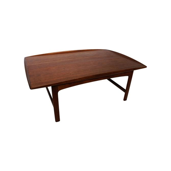 "1960s Mid-Century Modern Folke Ohlsson for Dux ""Frisco"" Teak Coffee Table by MetronomeVintage"