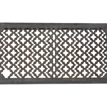 Victorian Cast Iron Radiator Cover or Trivet