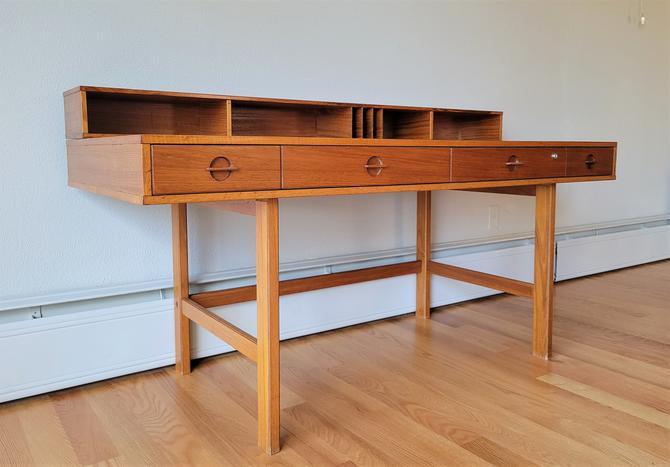 Vintage Danish Teak Desk by Jens Quistgaard for Lovig Dansk by WrightFindsinMCM
