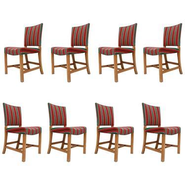 Set of 8 Kaare Klint Dining Chairs