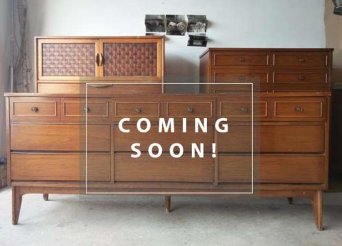 5 Pc Wicker Patio Set, Dixie 9 Drawer Mid Century Dresser From Martha Leone Custom Painted Furniture Of Reston Va Attic