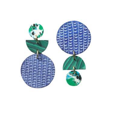 Rover & Kin - Swicheroo Clay Earrings