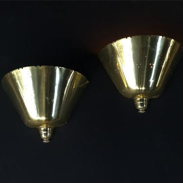 Pair of Paavo Tynell for Lightolier sconces by PeachModern