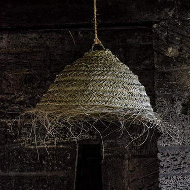 Moroccan Rattan Lampshade by CangguHome