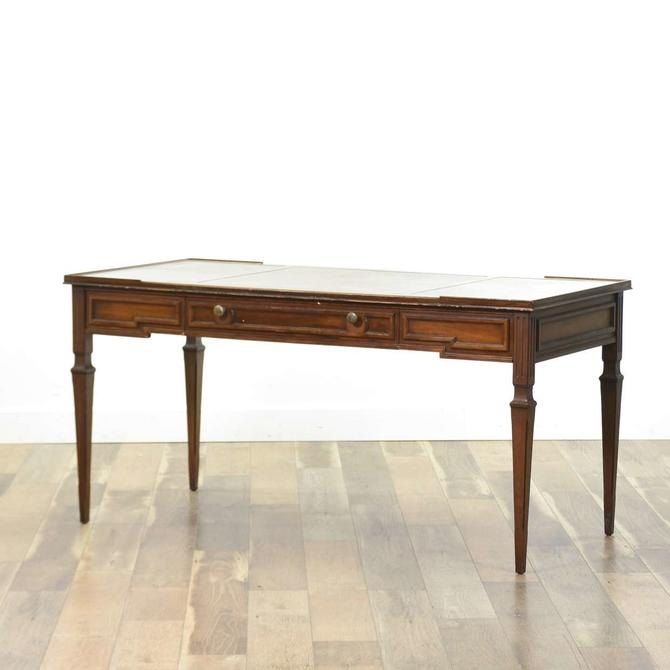 Sligh-Lowry Federal Style Leather Top Writing Desk