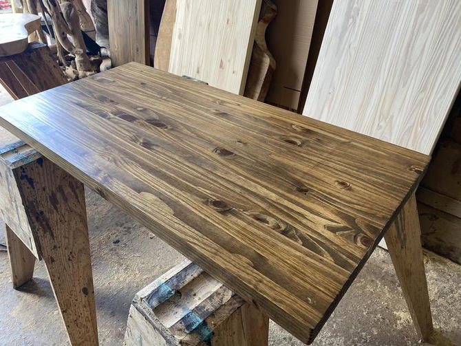 DIY Dining Table Top - Desk Top - Butcher Block Top by UmbuzoRustic