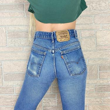 Levi's 517 Orange Tab Jeans / Size 26 27 by NoteworthyGarments