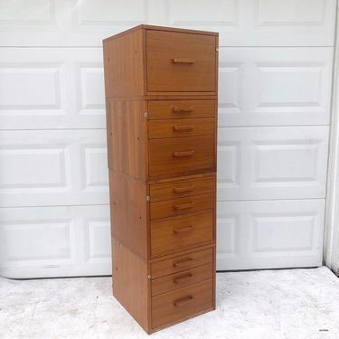 Vintage Teak Filing Cabinets by Jesper by secondhandstory