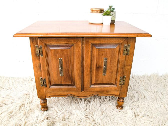 Moroccan Style Record Holder Cabinet by PortlandRevibe