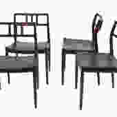 Danish Modern Rosewood Niels Moller #79 Dining Chairs by Marykaysfurniture