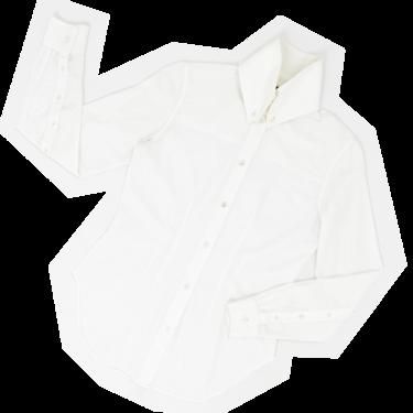 Alexander Mcqueen 90s big collar shirt