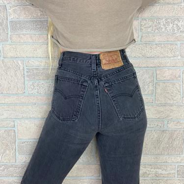 Levi's 501 Faded Black Jeans / Size 25 by NoteworthyGarments