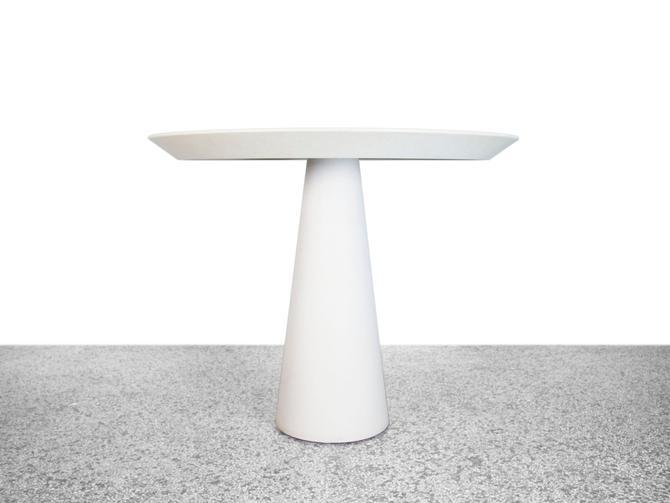 "Round 42"" High Top Pedestal Dining Table by JefferyStuart"