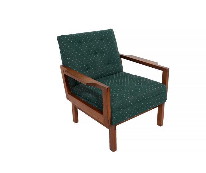Lounge Chair Walnut Mid Century Modern 60s Gunlocke Co