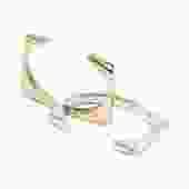 Argos Geometric Cuff Bracelet Bronze