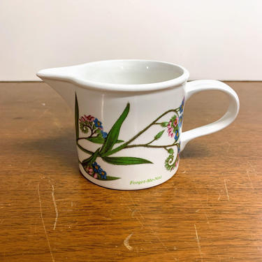 Vintage Portmeirion The Botanic Garden Creamer by OverTheYearsFinds